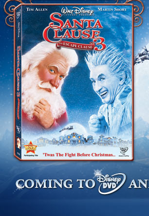 The santa clause 3 the escape clause the official walt Go to the website