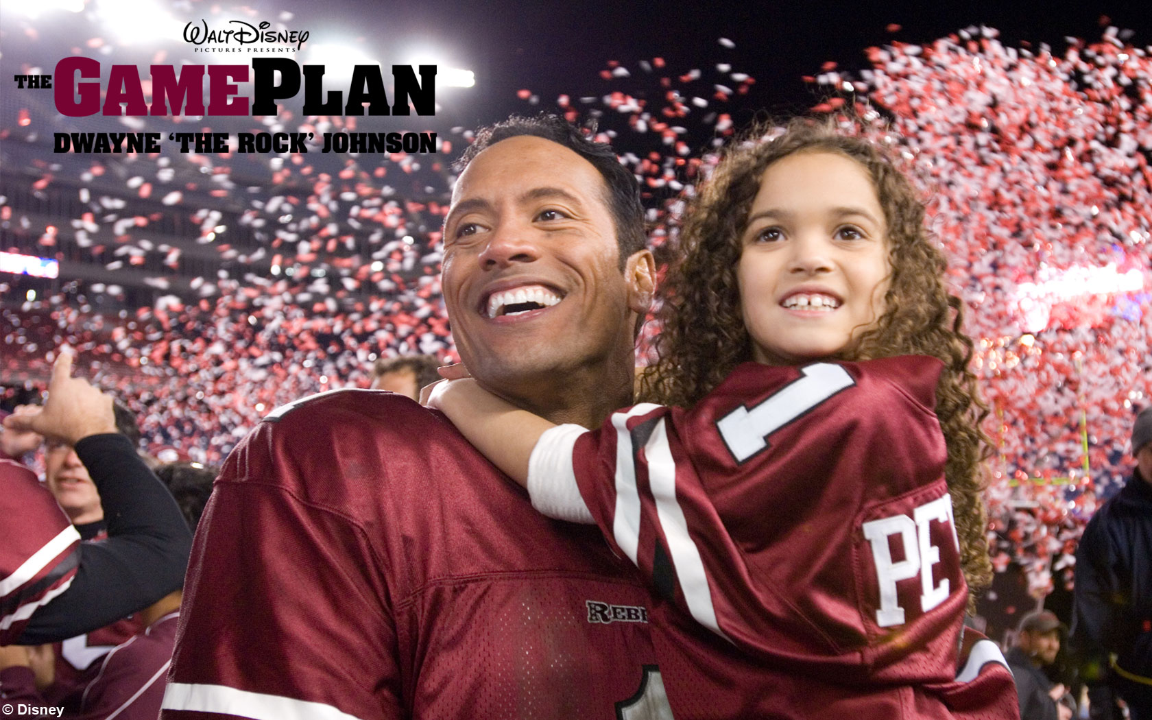 The Game Plan - Wallpaper - large