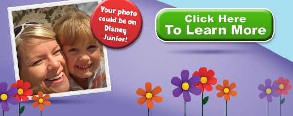 Your photo could be on Disney Junior!