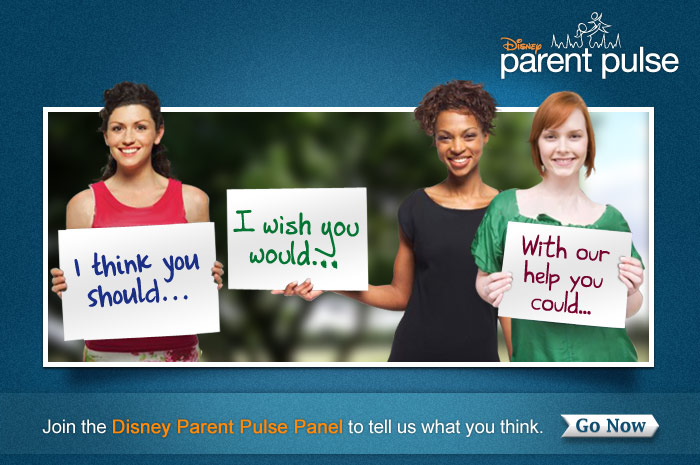 Join the Disney Parent Pulse Panel to tell us what you think.