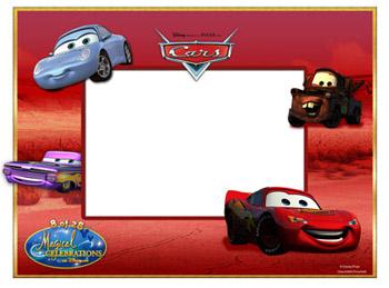 cars photo frame - Disney Picture Frame