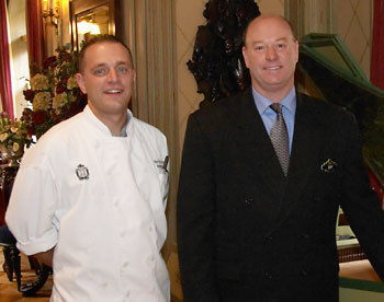 Executive Chef Marcel St. Pierre and Manager Jeff Plumb welcome you to Club 33.