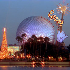 Epcot is putting on its holiday finery.