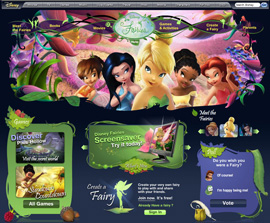 The Character Carousel is your key to worlds like Disney Fairies.