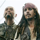 Sao Feng (Chow Yun-Fat) and Capt. Jack Sparrow (Johnny Depp) -- the more Jack says, the less you should trust him ...