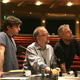 "Glenn (on the left) with the ""Little Mermaid"" creative team during previews."