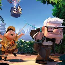 Carl Fredricksen and traveling companion Russell ©Disney·Pixar