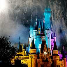 Fireworks Over Walt Disney World