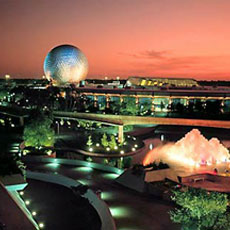 Future World at Walt Disney World's EPCOT