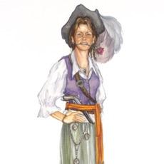 Jenifer's portrait now graces the Pirates of the Caribbean.