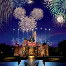 Fireworks at Disney