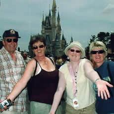 Reunion Celebration at Disney World
