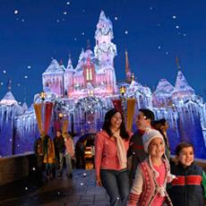 Christmas Trip to Disneyland Resort