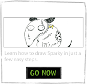 How To Draw Sparky