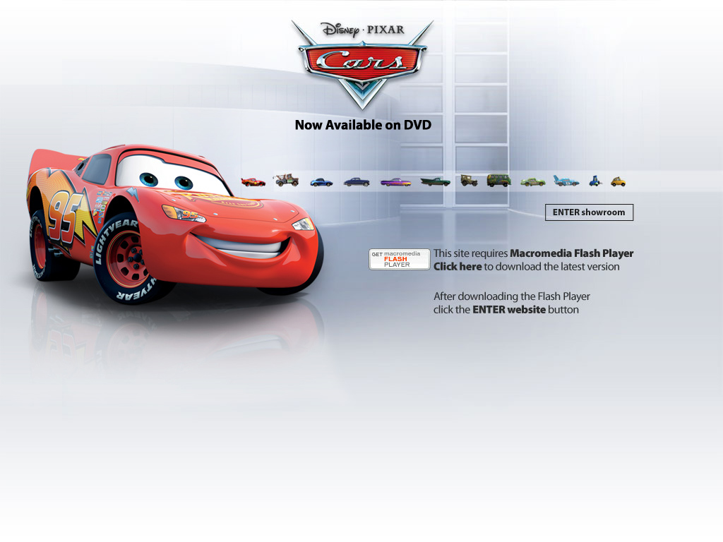 Cars DVD - Cars the Movie: Official Disney Website
